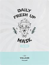Parfumuri și produse cosmetice Mască din țesătură cu extract de arbore de ceai pentru față - Village 11 Factory Daily Fresh Up Mask Tea Tree