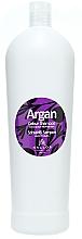 Parfumuri și produse cosmetice Șampon pentru păr vopsit - Kallos Cosmetics Argan Colour Shampoo