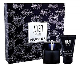 Mugler Alien Man Gift Set - Set cadou (edt/50ml+b/shm/50ml) — Imagine N2