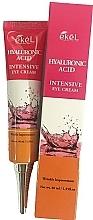 Parfumuri și produse cosmetice Crema cu acid hialuronic pentru ochi - Ekel Hyaluronic Acid Intensive Eye Cream