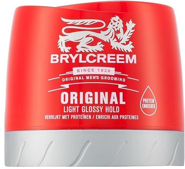 Cremă pentru păr - Brylcreem Original Light Glossy Hold — Imagine N1