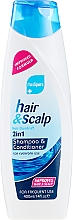 Parfumuri și produse cosmetice Șampon-balsam 2în1 împotriva mătreții - Xpel Marketing Ltd Medipure Hair & Scalp Anti-Dandruff Shampoo