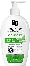 Parfumuri și produse cosmetice Emulsie pentru igiena intimă - AA Intymna Comfort Cream Emulsion