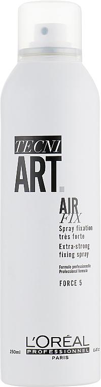 Lac de păr - L'Oreal Professionnel Tecni.art Air Fix Force 5 — Imagine N3