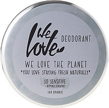 "Parfumuri și produse cosmetice Deodorant solid natural ""So Sensitive"" - We Love The Planet Deodorant So Sensitive"