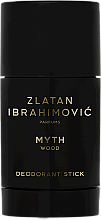 Parfumuri și produse cosmetice Zlatan Ibrahimovic Myth Wood - Deodorant-Stick
