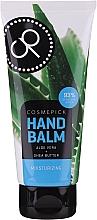 Parfumuri și produse cosmetice Balsam cu extract de aloe vera și unt de shea pentru mâini - Cosmepick Hand Balm Aloe Vera&Shea Butter