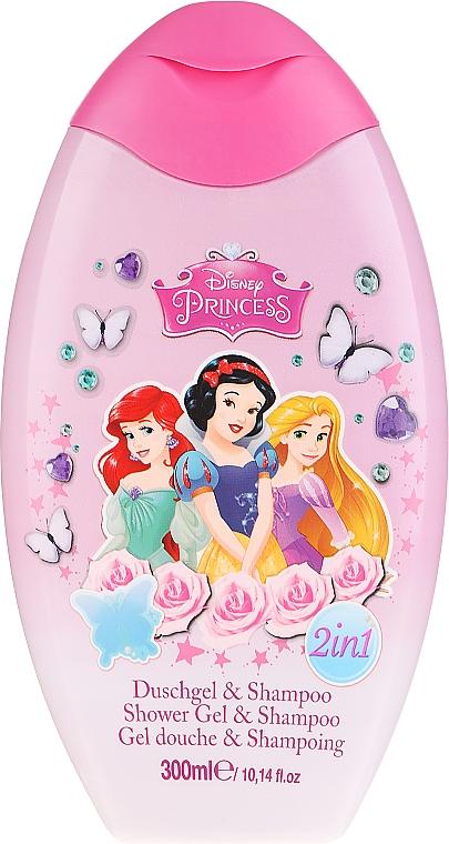 Șampon - EP Line Disney Princess Shower & Shampoo — Imagine N1