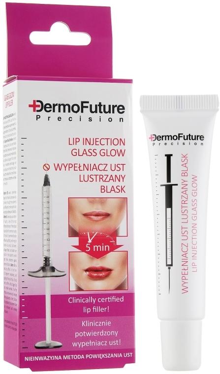 Maximizator de Buze strălucire - DermoFuture Lip Injection Glass Glow