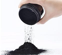 Praf cu efect de albire pentru dinți - Sanso Cosmetics Charcoal Activated Coconut Natural Powder — Imagine N2