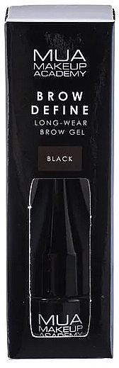 Gel pentru sprâncene - MUA Brow Define Long-Wear Brow Gel