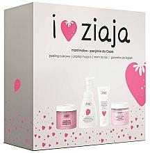 Parfumuri și produse cosmetice Set - Ziaja I Love Ziaja Marshmallow (b/peeling/300ml + h/cr/50ml + shower/gel/260ml + b/foam/250ml)
