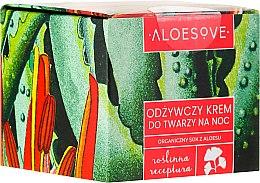 Parfumuri și produse cosmetice Cremă nutritivă de noapte pentru față - Aloesove