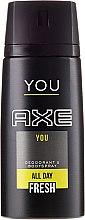 Parfumuri și produse cosmetice Deodorant spray - Axe You Deodorant Spray