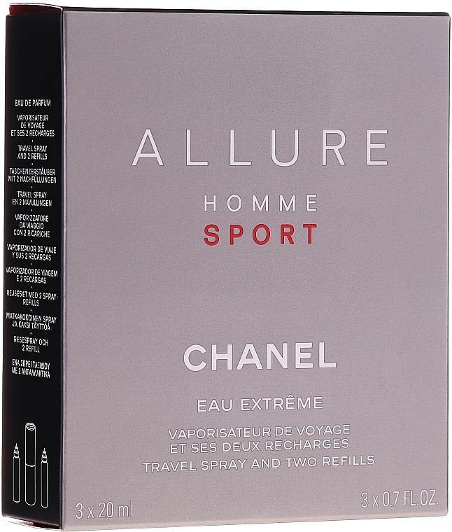 Chanel Allure Homme Sport Eau Extreme - Apă de parfum (edp/20ml + refills/2x20ml) — Imagine N1
