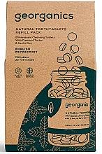 """Parfumuri și produse cosmetice Tablete pentru apă de gură """"English Mint"""" - Georganics Natural Toothtablets English Peppermint (rezervă)"""