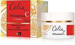 Parfumuri și produse cosmetice Cremă anti-rid, de zi și noapte 75+ pentru față - Celia Witamina C