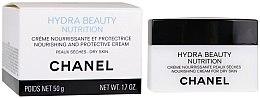 Cremă hidratantă pentru ten uscat - Chanel Hydra Beauty Nourishing and Protective Cream — Imagine N3