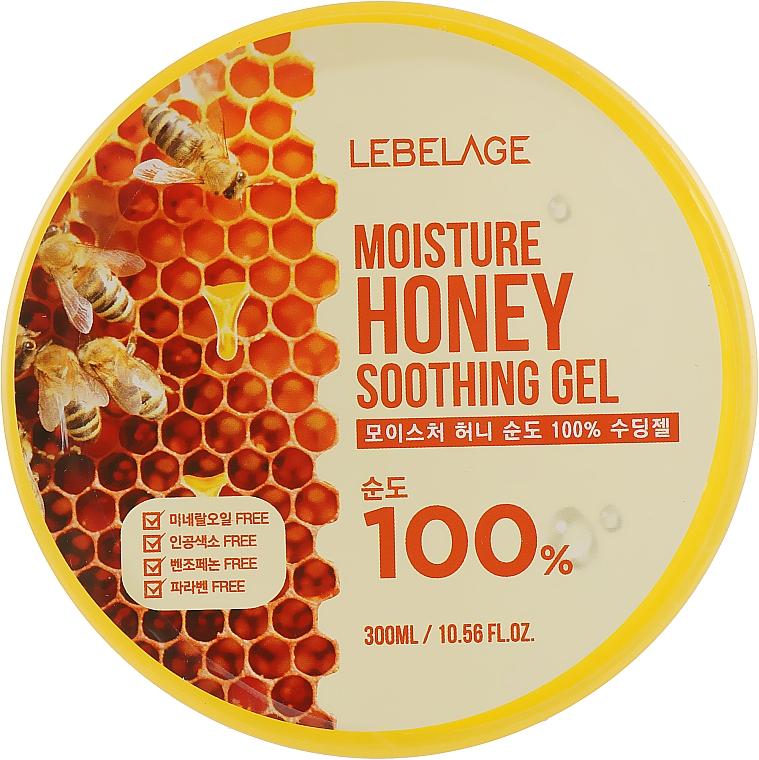 Gel hidratant cu miere pentru față - Lebelage Moisture Honey 100% Soothing Gel