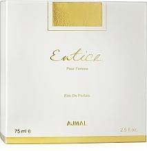 Parfumuri și produse cosmetice Ajmal Entice Her - Apă de parfum