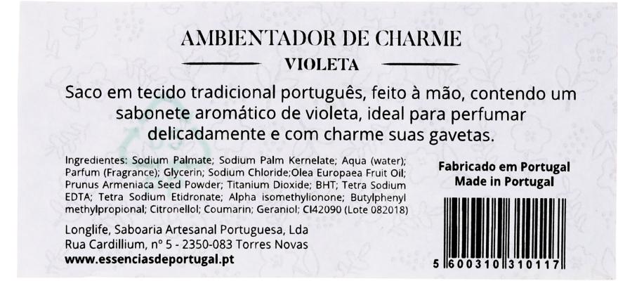 Pliculeț parfumat, flori albastre - Essencias De Portugal Tradition Charm Air Freshener — Imagine N2