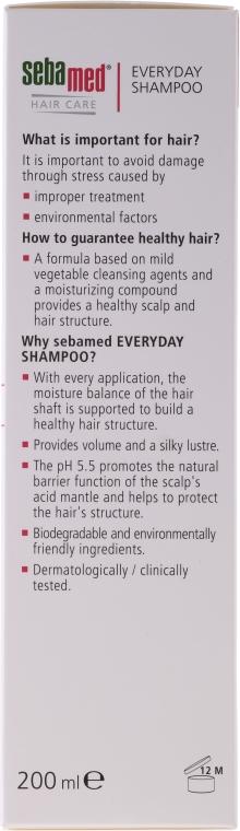 Șampon pentru păr normal și uscat - Sebamed Classic Everyday Shampoo — Imagine N2