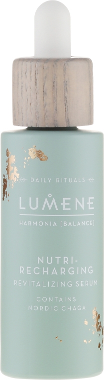 Ser regenerant pentru față - Lumene Harmonia Nutri-Recharging Revitalizing Serum — Imagine N2