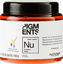 Parfumuri și produse cosmetice Mască nutritivă pentru păr uscat - Alfaparf Pigments Nutritive Mask