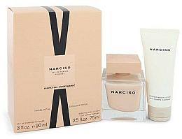 Parfumuri și produse cosmetice Narciso Rodriguez Narciso Poudree - Set (edp/90ml + b/lot/75 ml)