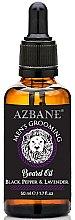 """Parfumuri și produse cosmetice Ulei pentru barbă """"Ardei negru și lavandă"""" - Azbane Mens Grooming Beard Oil Black Pepper & Lavender"""