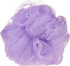 Parfumuri și produse cosmetice Burete de baie, liliac - IDC Institute Design Mesh Pouf Bath Sponges