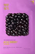 Parfumuri și produse cosmetice Mască de față cu fructe de pădure acai și vitamine - Holika Holika Pure Essence Mask Sheet Acai Berry