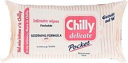 Șervețele pentru igiena intimă - Chilly Gel Delicate Intimate Wipes — Imagine N1