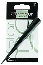 Parfumuri și produse cosmetice Agrafă de păr, neagră - Glamour Style