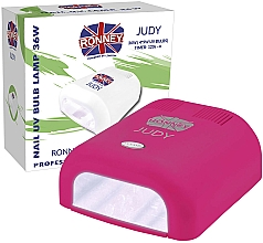 Parfumuri și produse cosmetice Lampă UV pentru unghii, purpurie - Ronney Professional Judy UV 36W (GY-UV-230) Lamp