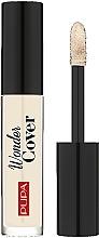 Parfumuri și produse cosmetice Concealer pentru față - Pupa Wonder Cover