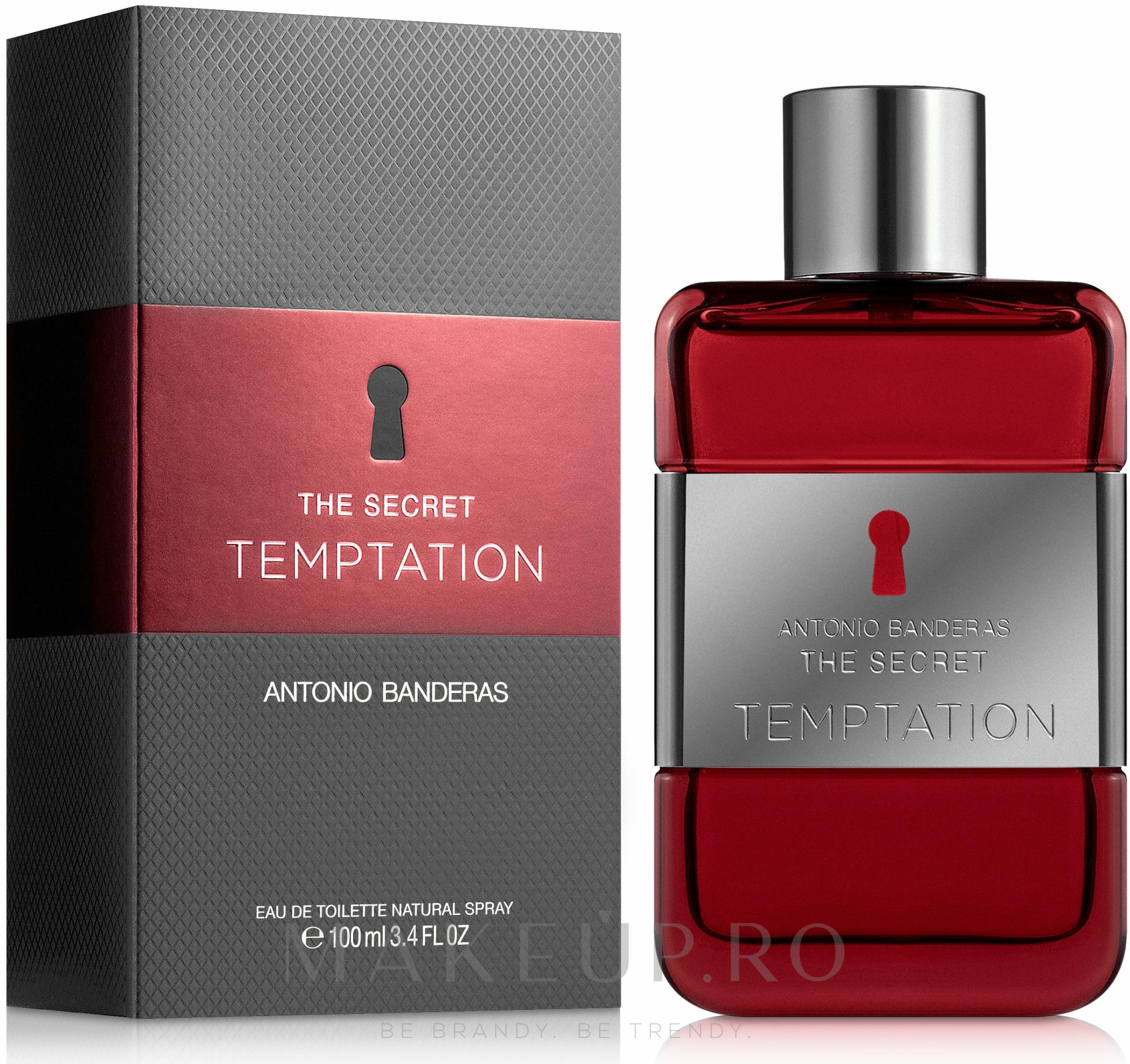 Antonio Banderas The Secret Temptation - Apă de toaletă — Imagine 100 ml