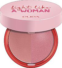 Parfumuri și produse cosmetice Fard compact de obraz - Pupa Fight A Like Woman Extreme Duo Blush