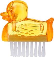 Parfumuri și produse cosmetice Perie pentru unghii, 3467, galbenă - Deni Carte Duck's Brush