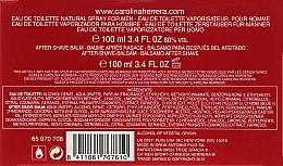 Carolina Herrera CH Men Sport - Set (edt/100ml + a/sh/balm/100ml) — Imagine N3