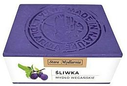 "Parfumuri și produse cosmetice Săpun natural ""Prune""  - Stara Mydlarnia Body Mania Plum Oil Natural Soap"