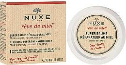 Parfumuri și produse cosmetice Balsam pentru față și corp - Nuxe Rêve de Miel Repairing Super Balm With Honey