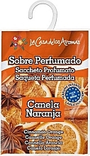 """Parfumuri și produse cosmetice Plic aromat """"Portocală și scorțișoară"""" - La Casa de Los Aromas Scented Sachet"""
