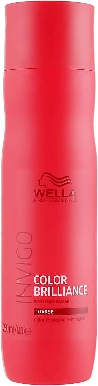 Șampon pentru păr vopsit - Wella Professionals Invigo Brilliance Coarse Hair Shampoo