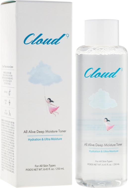 Tonic pentru față - Cloud9 All Alive Moisture Toner — Imagine N1