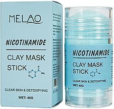 """Parfumuri și produse cosmetice Mască-stick pentru față """"Nicotinamide"""" - Melao Nicotinamide Clay Mask Stick"""