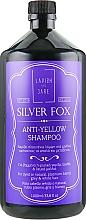 Parfumuri și produse cosmetice Șampon împotriva părului galben pentru bărbați - Lavish Care Silver Fox Anti-Yellow Shampoo