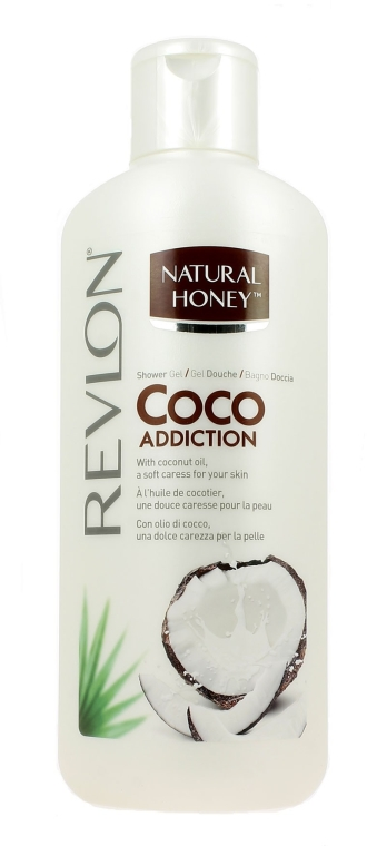 "Gel de duș ""Nucă de cocos"" - Revlon Natural Honey Coco Addiction Shower Gel"
