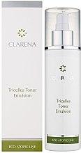 Parfumuri și produse cosmetice Emulsie tonifiantă cu 3 tipuri de celule stem - Clarena Eco Line Tricelles Toner Emulsion