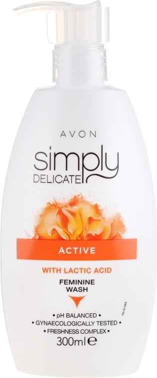 Gel pentru igiena intimă - Avon Simpy Delicate Feminine Wash